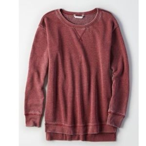 AE oversized jegging sweatshirt. Size XS/S